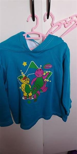 Blue Barney hoodie for sale