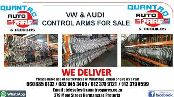 VW & AUDI CONTROL ARMS FOR SALE