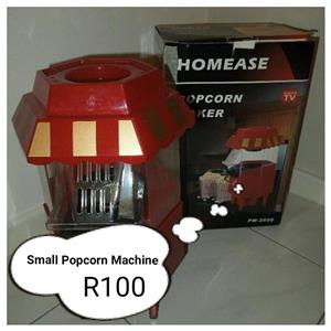 Small popcorn machine for sale