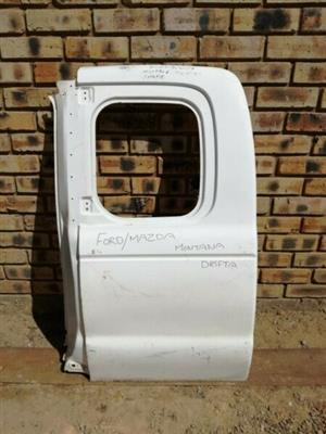 Mazda Drifter Double Cab Left Rear Door  Contact for Price