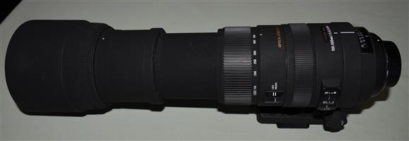Sigma 150-500mm Zoom Lens for Nikon