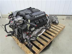 Jeep Grand Cherokee SRT8 6.4L 392 Hemi Engine Dropout w/ Transmission