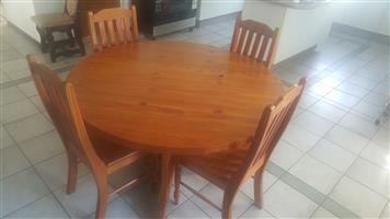 Oregon Pine Dining Room Set