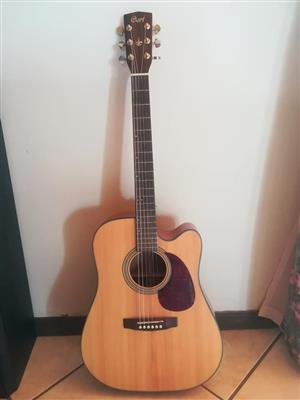 Cort MR710F Acoustic-Electric Guitar + hard case + tuner