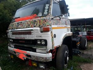 1988 nissan ck20 and 12m double axle trailer R95000neg