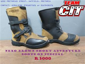 Nexo Adventure Short Boots Special