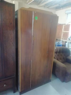 Wooden sliding door cupboard