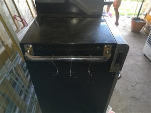 Stainless steel 6 burner gas braai