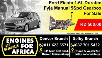 Ford Fiesta 1.6L Duratec Fyja 5Speed Manual Gearbox Used For Sale
