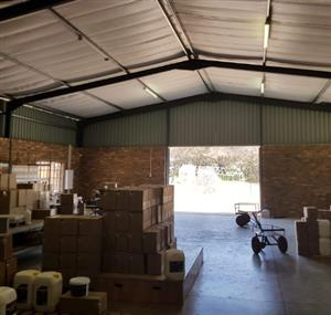 SMALLHOLDING WITH HUGE WAREHOUSE AND OFFICES FOR SALE