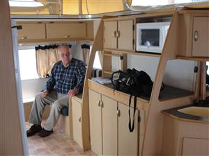 FOR SALE – 2005 GYPSEY REGAL BLUE SERIES CARAVAN IN EXCELLENT CONDITION