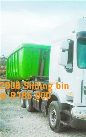 2008 Sliding bin