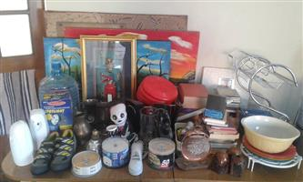 Various crockery for sale