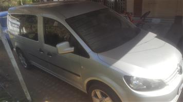 2012 VW Caddy Maxi 2.0TDI crew bus