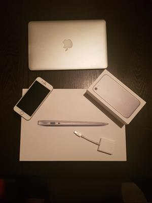 2016 Macbook Air 11-inch + 2017 128GB iPhone 7 Forsale - Excellent Condition
