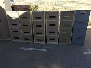 Filing Cabinets some with keys