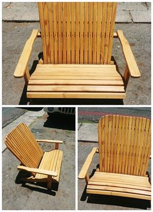 kiddies Deck 2 seater Chairs