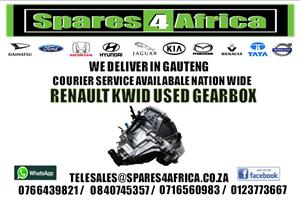 RENAULT KWID USED GEARBOX FOR SALE