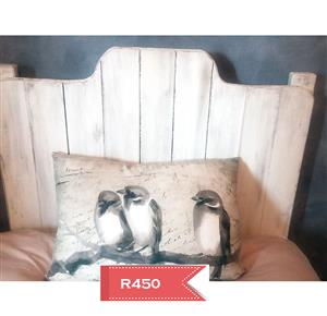 Headboard for single bed in French country style