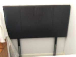 Headboard leather touch