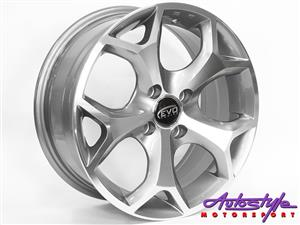 15 inch  Evo Focus 4-100 Alloy Wheels