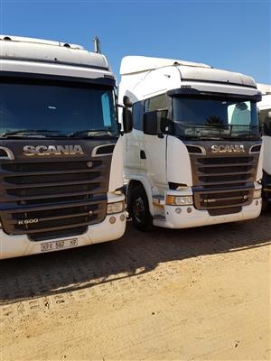 Scania R500 Horse available in our yard