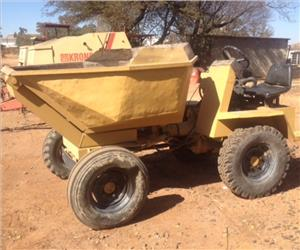 S3184 Yellow Lombardini Dumper 2x4 Pre-Owned Dumper