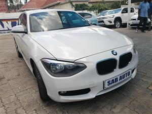 2013 BMW 1 Series 125i 5 door Urban auto