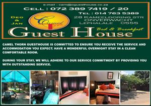 Camelthorn Guesthouse