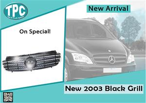 Mercedes Benz Vito New 2003 Black Grill for sale at TPC