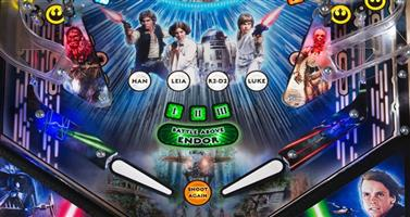 Star Wars Pro Pinball Machine by Stern NEW
