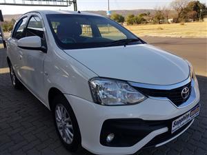 2018 Toyota Etios hatch 1.5 Xs Sport
