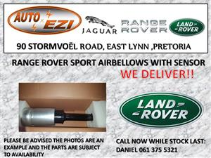 RANGE ROVER SPORT AIR BELLOWS WITH SENSOR