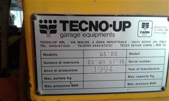 Radius grinder TECNO-UP