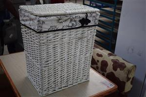 White basket bin for sale