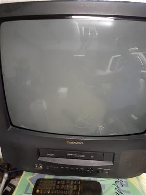 Daewoo 54cm TV and Video
