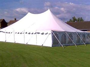 Peg & Pole Tent 5mt X 10mt for sale