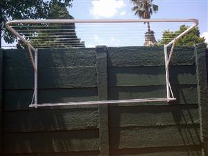 Steel washing lines for sale including delevery and installation quality which can last many years with 2 years garantee