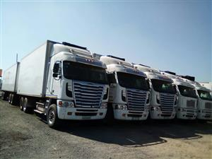 TRUCKS AND TRAILERS FOR SALE. AVAILABLE JOBS FOR TRUCK OWNERS! WE PROVIDE DIESEL OR ALL CONTRACTED TRUCKS.