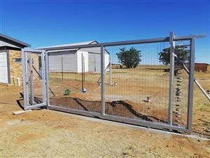 clear view driveway gates supply and install Pretoria
