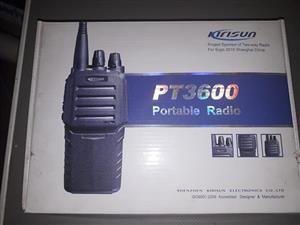 Portable radio for sale