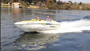 Yamaha Twin Jet Boat