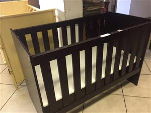 Baby Cot in Brown
