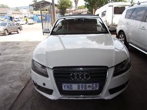 AUDI A5 2.0 TFSI 2009 CABRIOLET  STRIPPING FOR SPARES