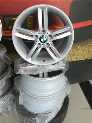 BMW 18'' M-SPORT RIMS ONLY