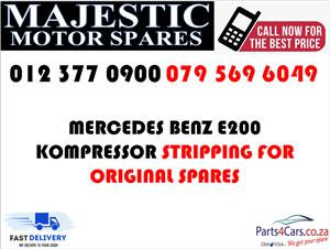 Mercedes benz e200 w124 stripping for spares used parts for sale
