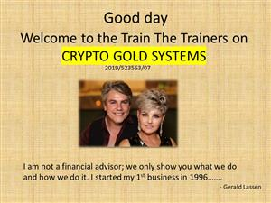 Training on Bitcoin and Crypto currency