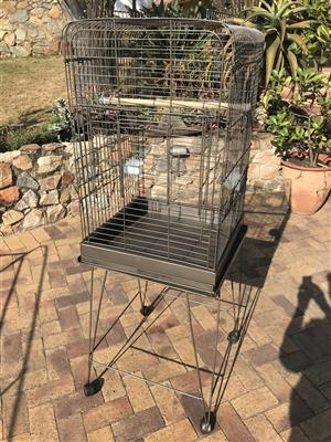 Bird or parrot cage