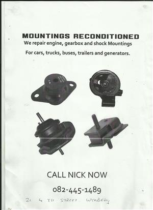 engine mountings recondition