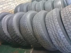GOOD SECOND HAND TRUCK TYRES,GOOD DISCOUNTS OFFERED,GUARANTEEED